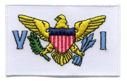 flag patch Jungferninseln (US)