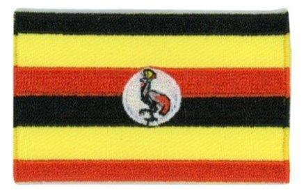 flag patch Uganda