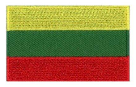 vlag patch Litouwen