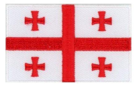 flag patch Georgia