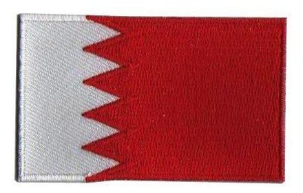 vlag patch Bahrein