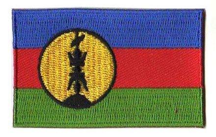 vlag patch Nieuw-Caledonië