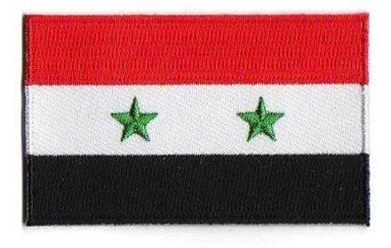 vlag patch Syrië
