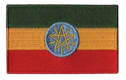 vlag patch Ethiopië