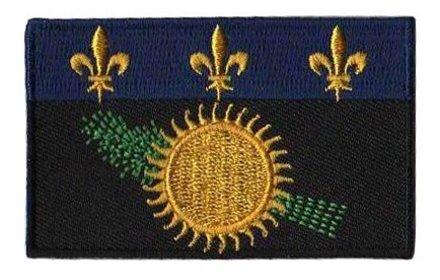 vlag patch Guadeloupe