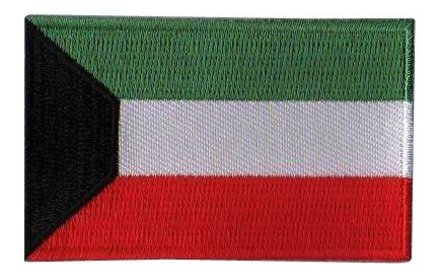 Flaggenpatch Kuwait