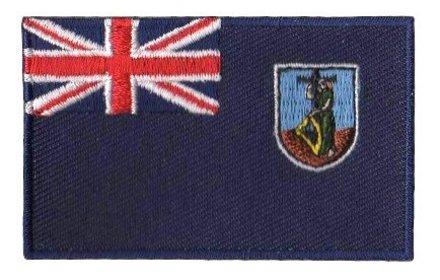 flag patch Montserrat