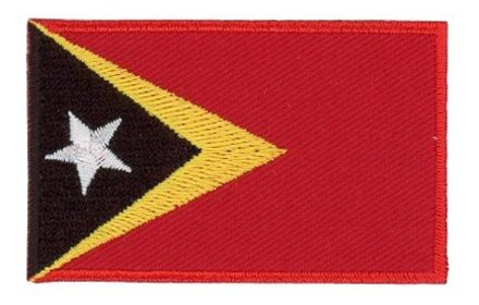 vlag patch Oost-Timor