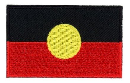 vlag patch Aboriginal