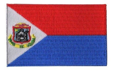 vlag patch St. Maarten