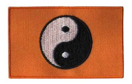 vlag patch Yin Yang