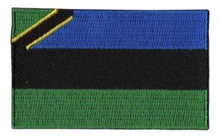 vlag patch Zanzibar