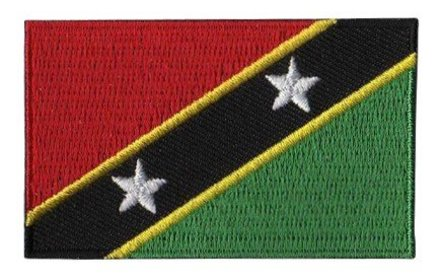flag patch Saint Kitts and Nevis