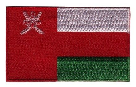 vlag patch Oman
