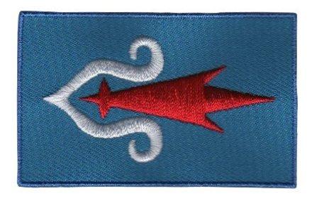 Flaggenpatch Ainu