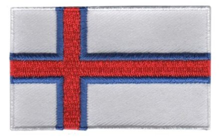 flag patch Faroe Islands