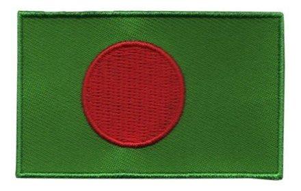 Flagge Patch Bangladesch