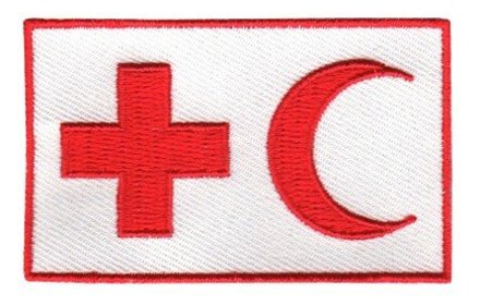 vlag patch IFRC