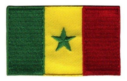 vlag patch Senegal
