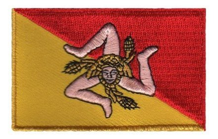 flag patch Sicily