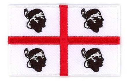 Flagge Patch Sardinien