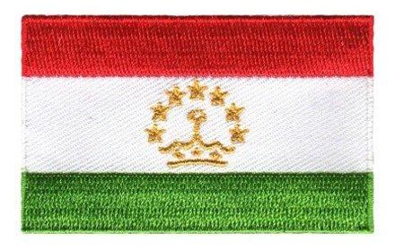 flag patch Tajikistan