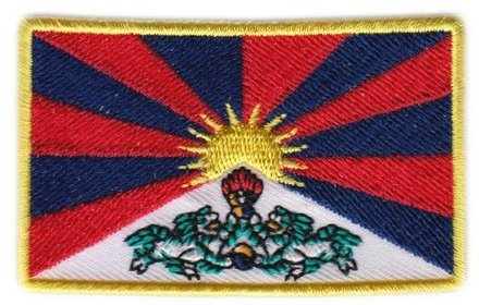 vlag patch Tibet