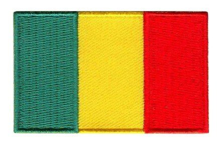 Flaggenpatch Mali