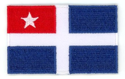 flag patch Crete