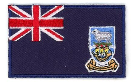 flag patch Falkland Islands