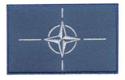 Flaggenpatch NATO
