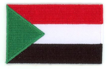 flag patch Sudan
