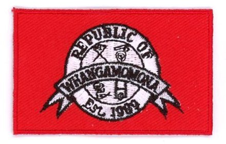 vlag patch Whangamomona