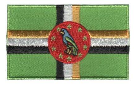 Flaggenpatch Dominica