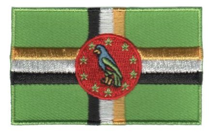 vlag patch Dominica