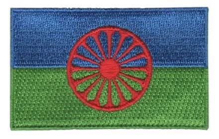 vlag patch Romani / Gypsy