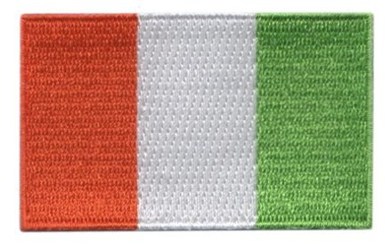 flag patch Ivory Coast