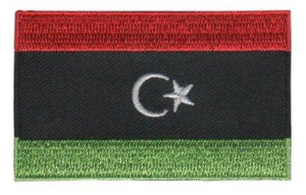 vlag patch Libië