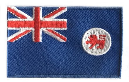 Flagge Patch Tasmanien