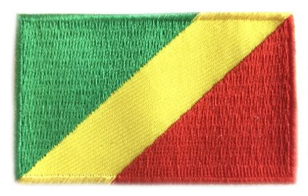 vlag patch Republiek Congo