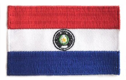 Flagge Patch Paraguay