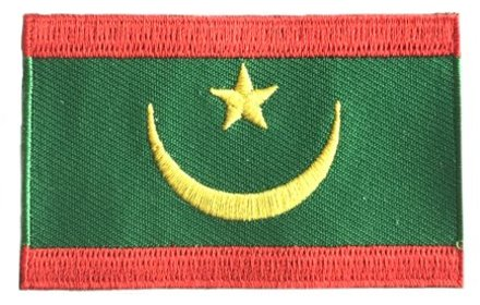 flag patch Mauritania