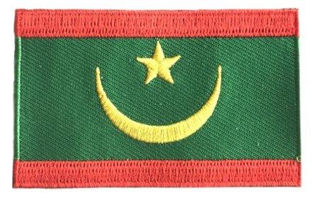 Flaggen-Patch Mauretanien