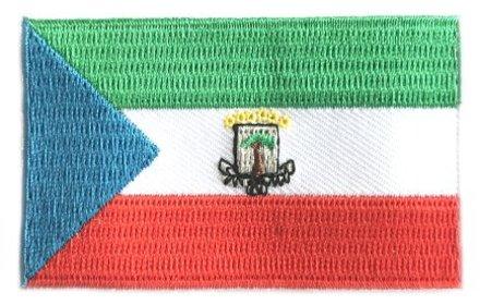 Flaggenpatch Äquatorialguinea