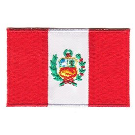 Flaggenpatch Peru