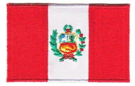 Flaggenpatch Peru