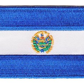 flag patch El Salvador