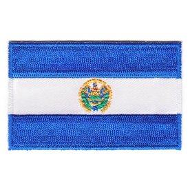 Flagge Patch El Salvador