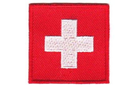 vlag patch Zwitserland