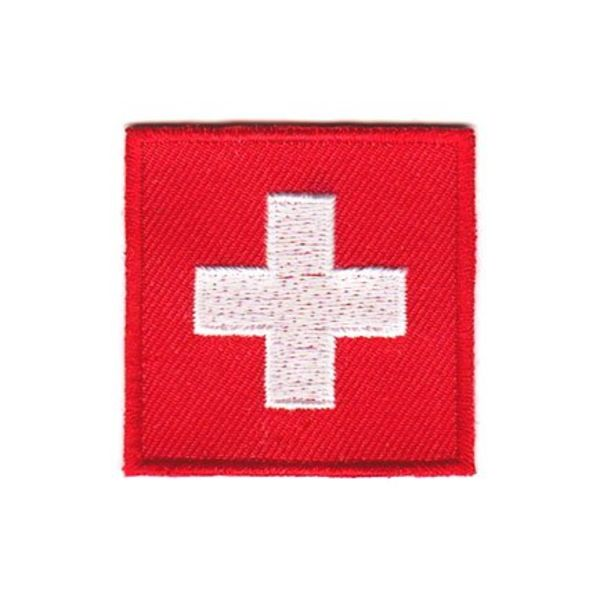 Schweiz flag patch
